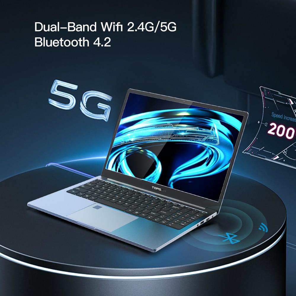 15.6 Inch 10th Intel Core i7-1065G7 16G RAM Laptop Fingerprint Unlock Notebook PC Windows 10 Pro Backlit keyboard 2.4G+5G Wifi