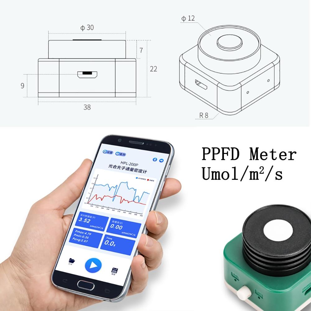 مستشعر بار الكم HPL200P 400-700nm, مقياس PPFD umol/m2/s