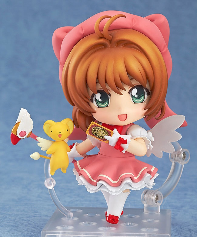 Figura DE ACCIÓN DE Sakura Cardcaptor Kinomoto Sakura de PVC, muñeca coleccionable en miniatura, juguete de 10cm, 400 #
