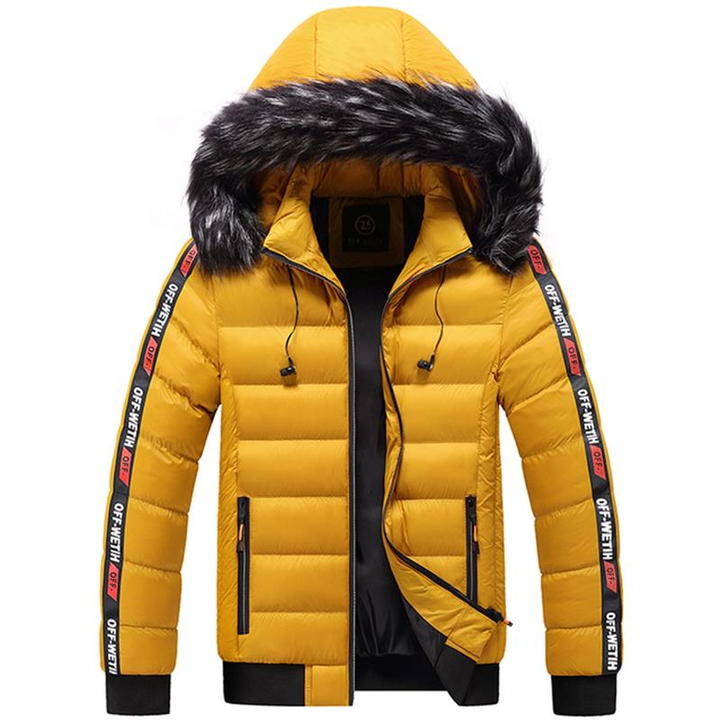 Новинка 2021, мужская зимняя куртка, парка, мужская осенне-зимняя теплая куртка, повседневная мужская куртка, ветровка, стеганая Толстая куртк...