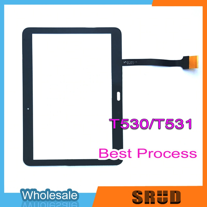 10Pcs Original Touch Glass For Samsung Galaxy Tab 4 Advanced T350 T530 T536 T550 T560 T580 LCD Touch Digitizer Glass enlarge