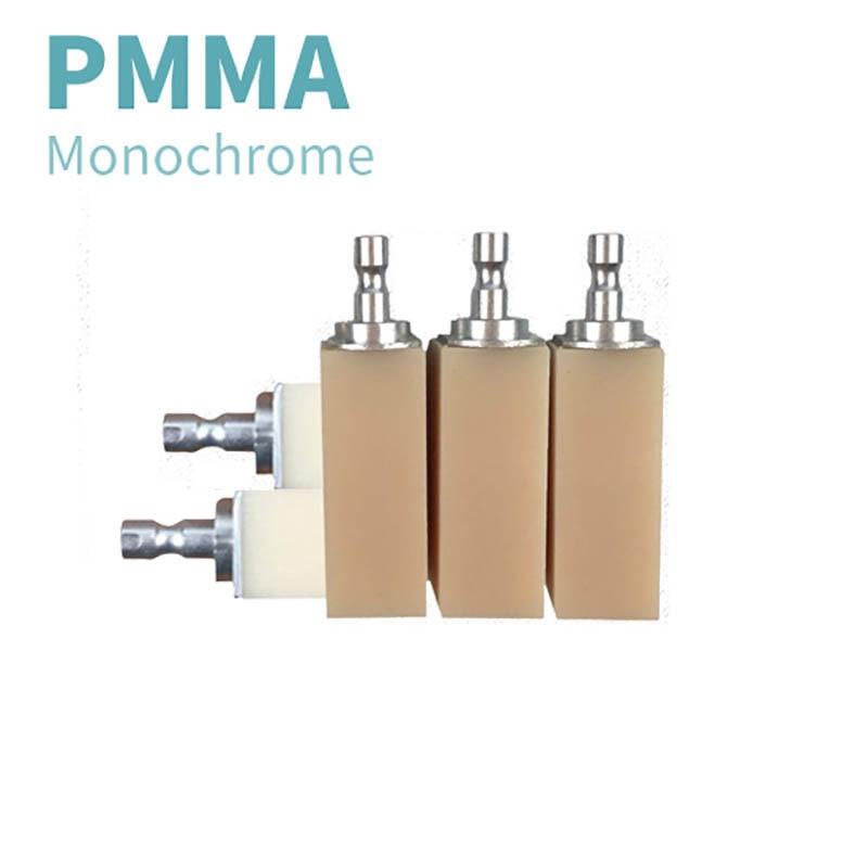 PMMA 10 قطع Sirona 401519 مللي متر كامة تصميم بمعونة الحاسوب للأسنان كتلة 20 ألوان لجسر تاج طبيب الأسنان