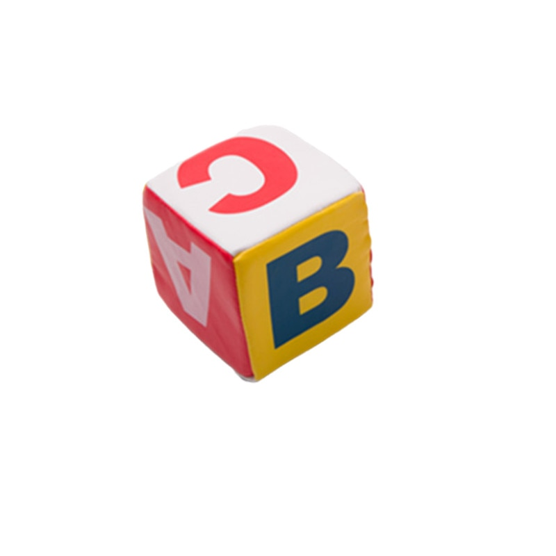 Sponge Sieve 10CM Digital Points  Letter Toy Dice Baby Gme Sieve enlarge