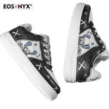 EOSNYX 2020 Spring Brand Kids Sneakers Girls shoes Fashion Baby Boys Casual Children Shoes Girl Chil
