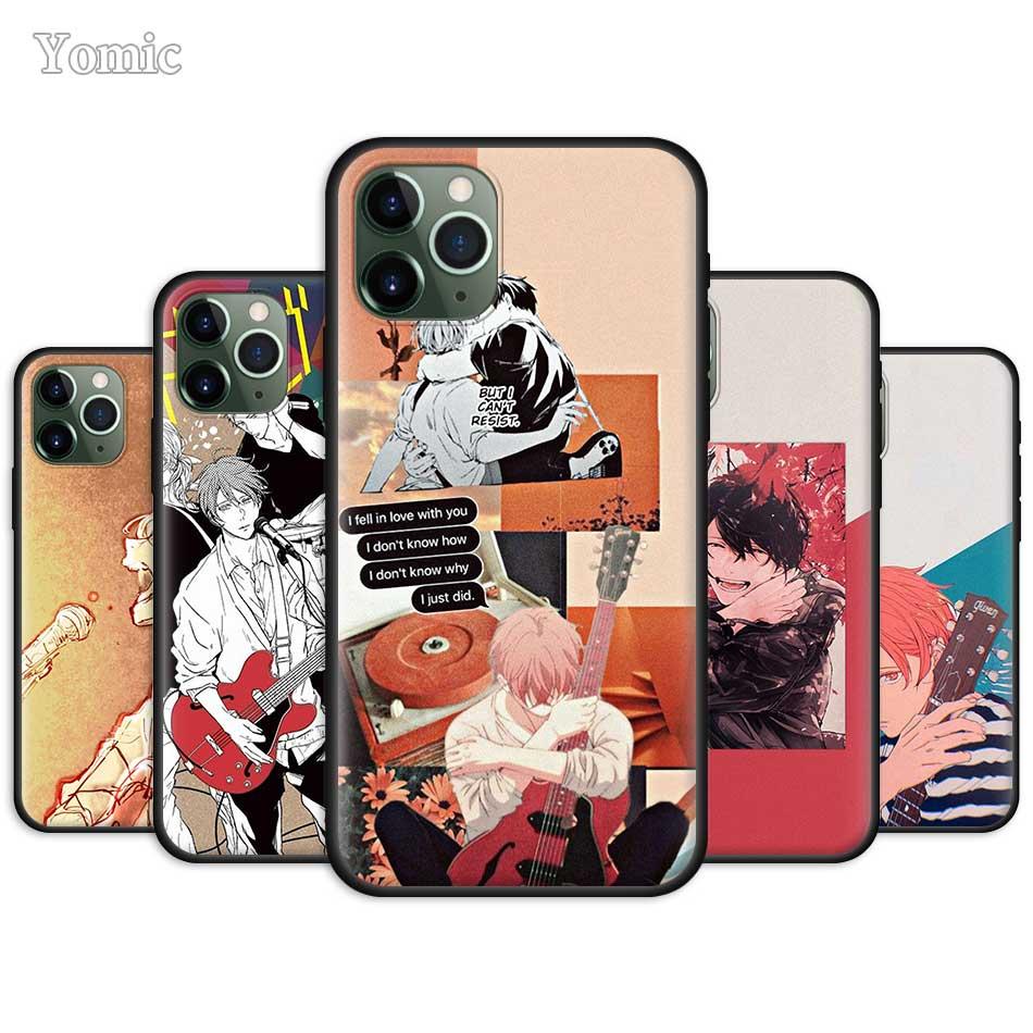 Funda ajustada de Anime para Apple iPhone 7 11 Pro XR 6 X XS MAX 8 6S Plus 5 5S SE 2020 7Plus, funda de TPU de silicona negra blanda para teléfono