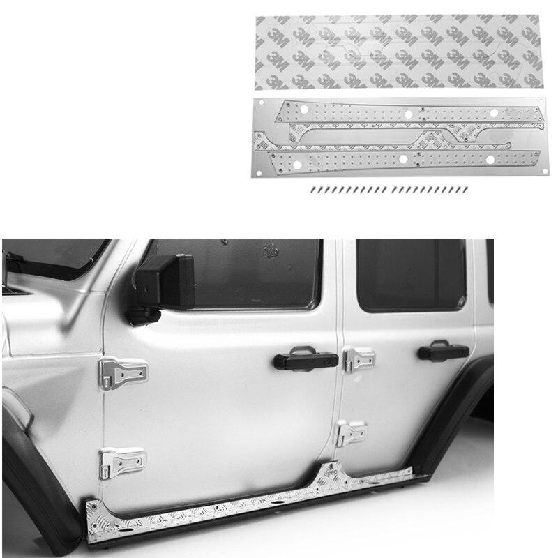 DJ AXIAL SCX10 III Side Bumper Anti-skid Plate Side Bar Anti-skid Plate JEEP RC Car Upgrade Accessor