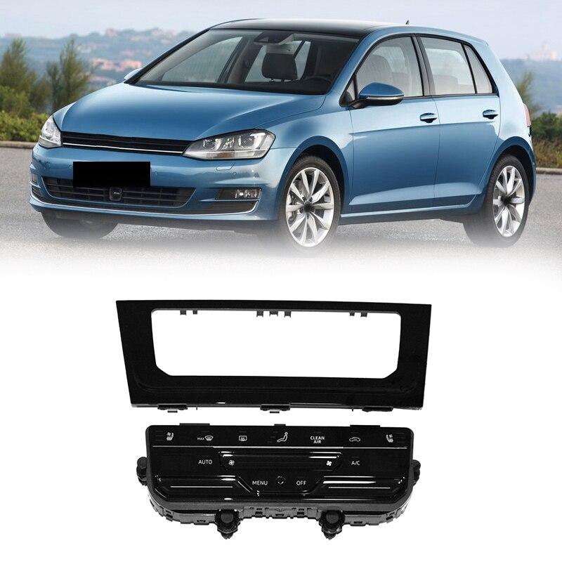 سيارة LCD الصحافة الشاشة التلقائي لوحة تكييف الهواء تكييف الهواء التبديل للجولف 7 MK7 MK7.5 جولف 7.5 جولف R