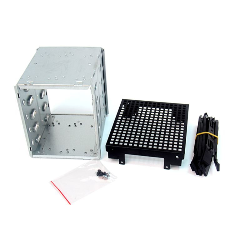 2021 New Large Capacity Stainless Steel HDD Hard Drive Cage Rack SAS SATA Hard Drive Disk Tray Caddy
