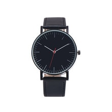 Mens watch Simple and cheap Home Marble surface Retro Design Leather Band Analog Alloy Quartz Wrist