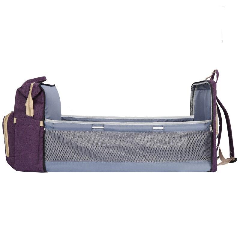 Mummy Maternity Nappy Bag Large Capacity Baby Diaper Bag Bed Travel Backpack Nursing Bags Large Capacity Stroller Bag
