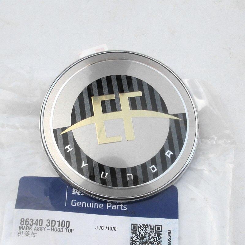 Para Sonata EF capó delantero emblema insignia Logo OME 863403D100 86340 3D100 2002-2005