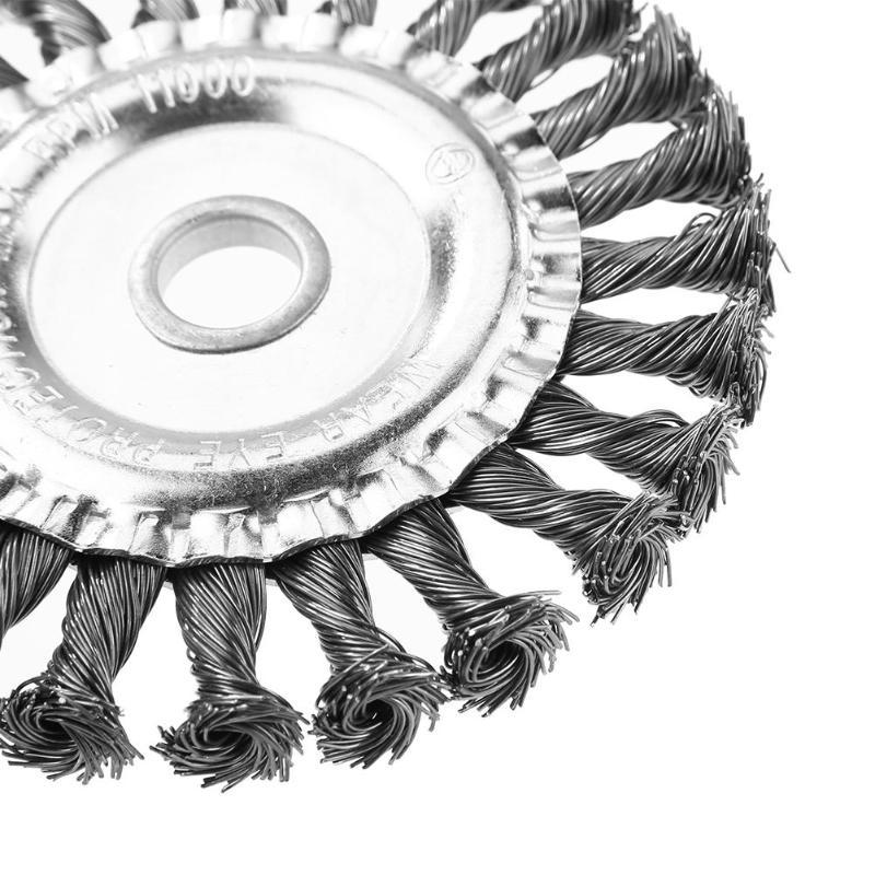 Universele grasmaaier mes trimmer schijfkop twist knoop borstel - Tuingereedschap - Foto 4