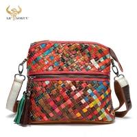 2021 Colorful Genuine Leather Famous Brand Luxury Ladies Designer Patchwork Shopping Purse Handbag Over Shoulder bag Women A88