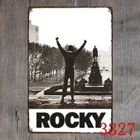 metal tin sign rocky movie decor bar pub home vintage retro postervisit our store more products