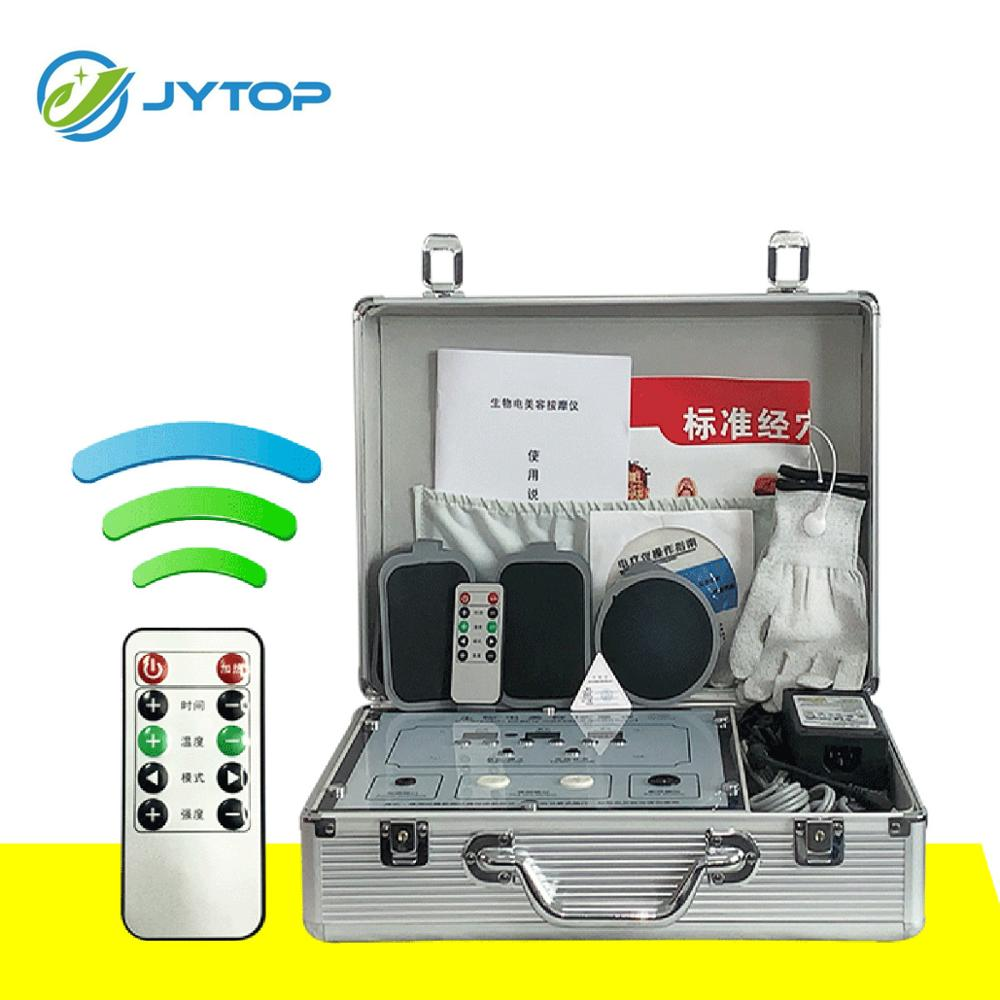 JYTOP-DDS مدلك الجسم الكهربائي الحيوي ، أدوات تدليك ميريديان متعددة الوظائف