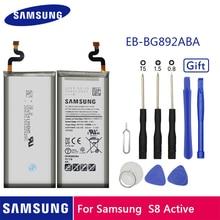 Samsung Original Battery 4000 Mah EB-BG892ABA For Samsung Galaxy S8 Active SM-G8920 G892F G89 Replacement Batteries