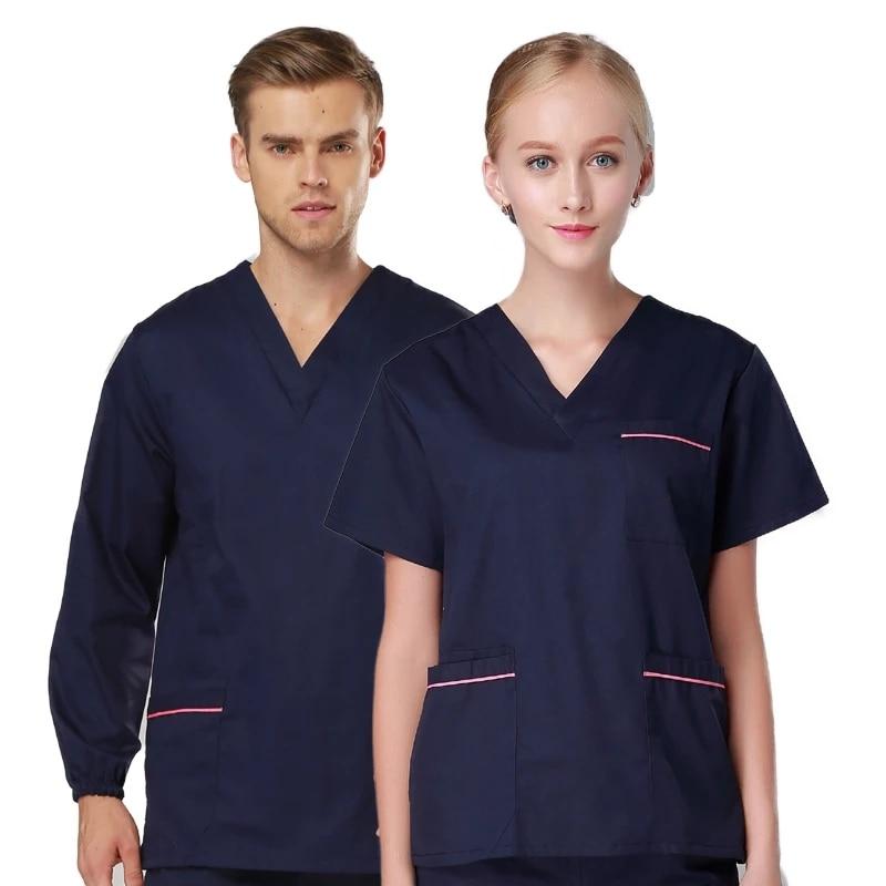 Одежда для медсестер, одежда для работы, одежда для стоматологических животных, больницы, мужская и женская одежда для кормления, рабочая од...