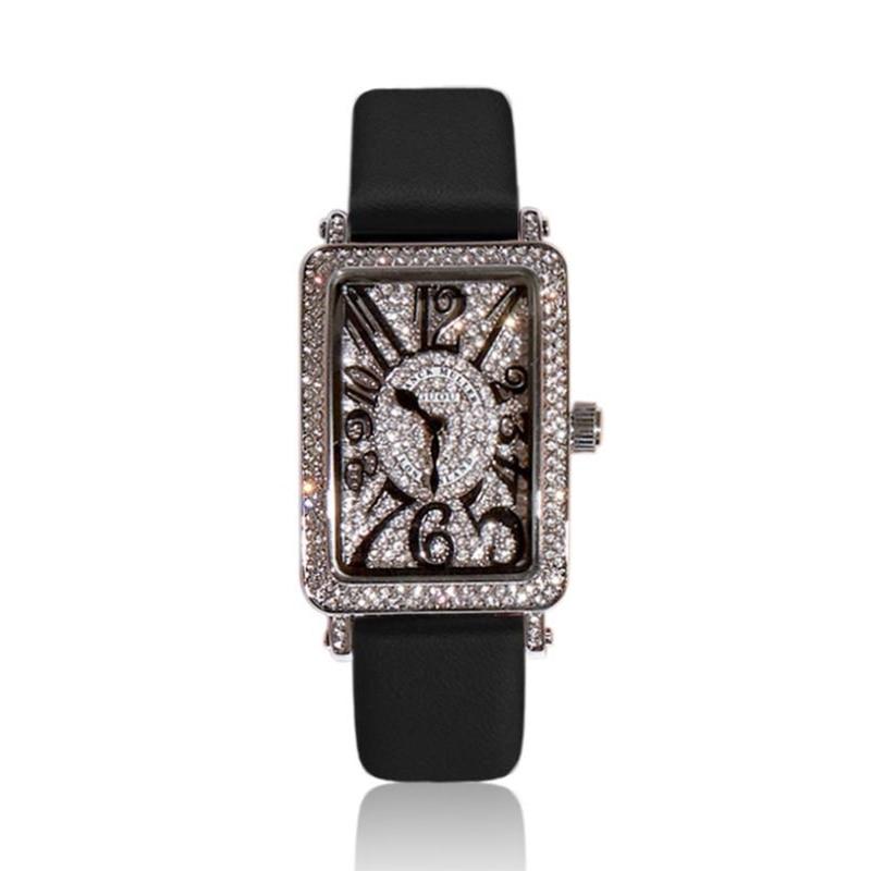 Reloj Mujer Mulheres Relógios 2019 Venda Quente de Quartzo relógio de Pulso Marca de Luxo Diamante Senhoras Relógio de Pulso Relógios para As Mulheres Kol Saati