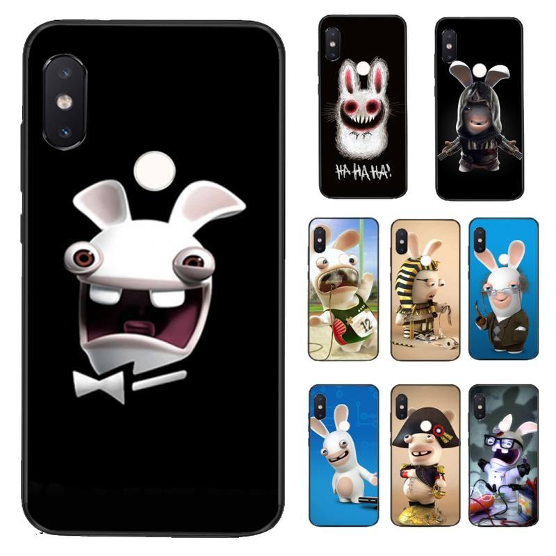 FHNBLJ conejo loco Coque funda del teléfono carcasa para Xiaomi Redmi 5 5 6 Plus 6A 4X 7 7A 8 8A 9 Nota 5 5A 6 7 8 8Pro T 8