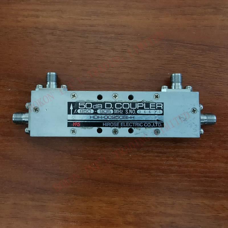 50dB 850MHz - 905MHz D.COUPLER 850MHz to 905MHz Couplers with Connectors HDH-00950BI-H HIROSE HRS COUPLER