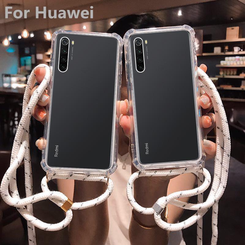 Correa de cordón para teléfono móvil Huawei Mate 10 20 30 Nova 3 4 4e 5 P20 P30 Lite