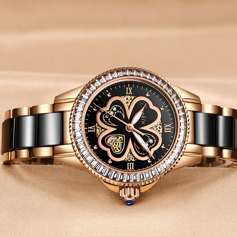 Montre Femme SUNKTA New Rose Gold Watch Women Quartz Watches Ladies Top Brand Luxury Female Wrist Watch Girl Clock Wife gift+Box enlarge