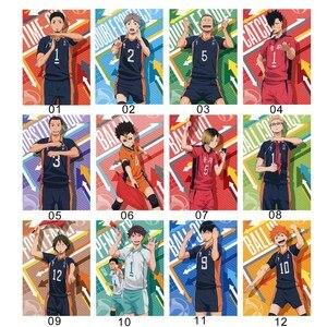 Anime Haikyuu!!Shoyo Hinata Kageyama Tobio Sugawara Koushi Poster Scroll Painting Home Decoration Wall Painting
