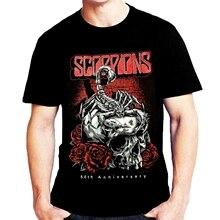 t shirt Scorpions Men Summer T-shirt