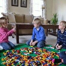 Nieuwe-sac de rangement pour jouets enfants   Tapis de jeu et de rangement, Lego Speelgoed, pochette pour Koord, mode Praktische Opbergzakken