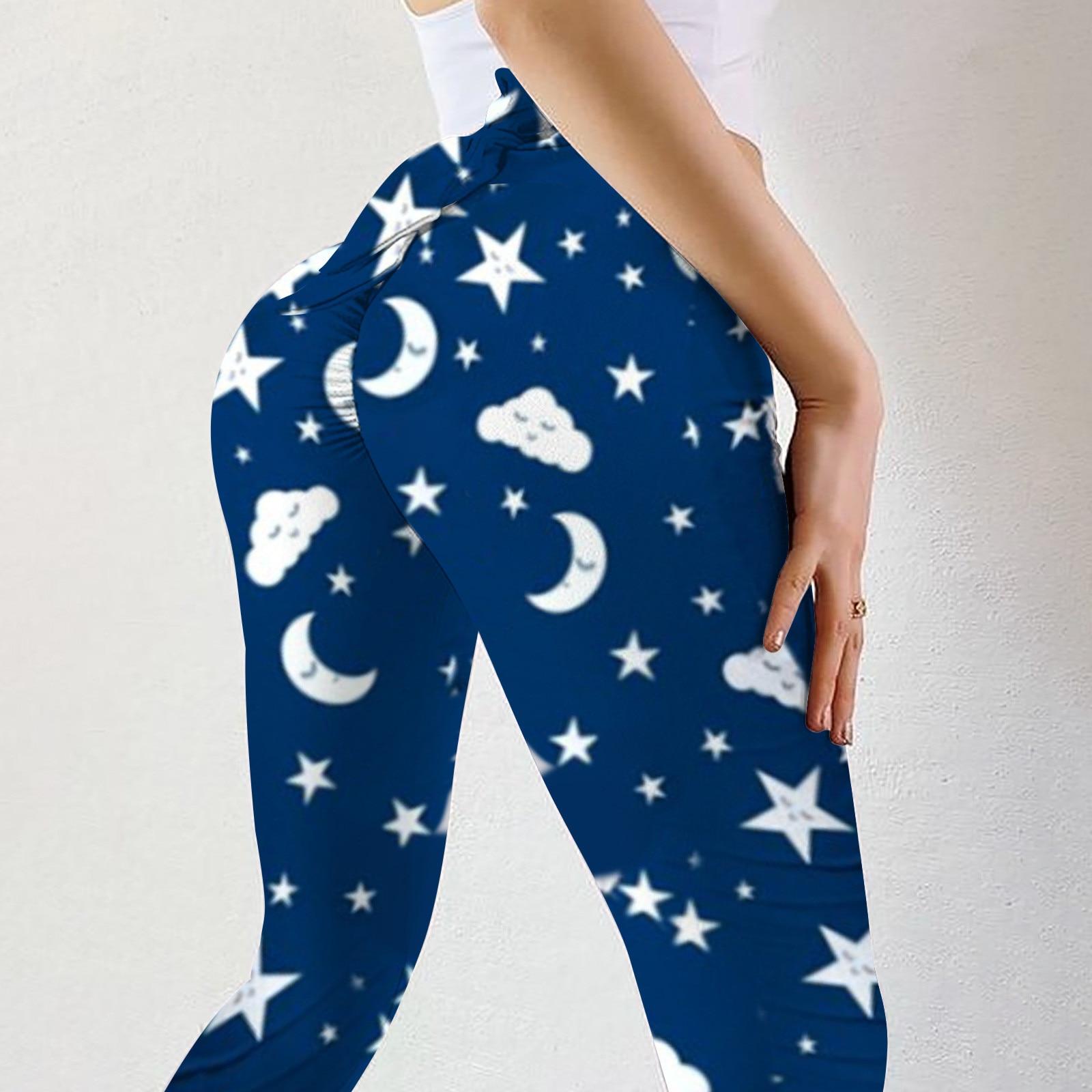 Pantalones de Yoga a la moda para mujer, ropa deportiva de cintura...