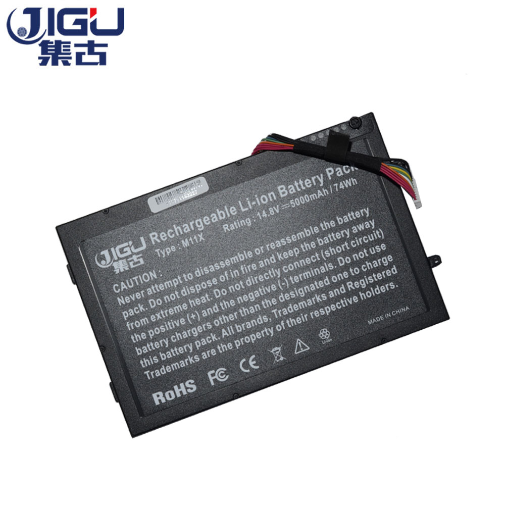JIGU 14,8 V 8 celdas de la batería PT6V8 T7YJR P06T 08P6X6...