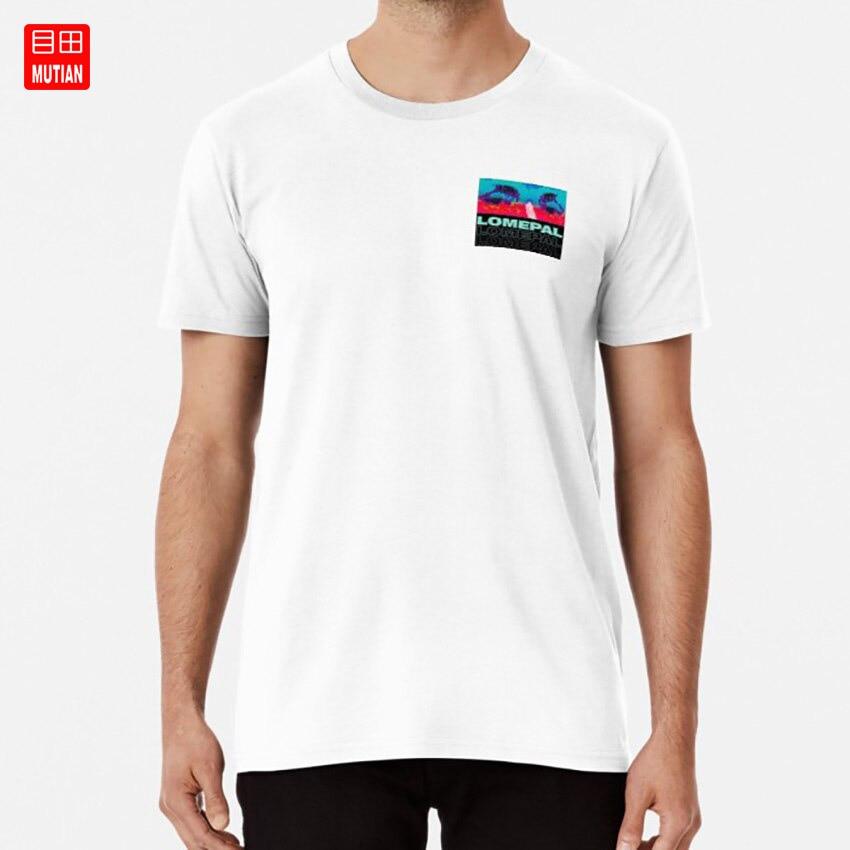 LOMEPAL Triple mira T camisa blanca rojo 1995 bigflo oli orelsan lomepal gringe
