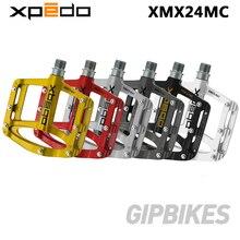 Wellgo XPEDO pedały rowerowe SPRY XMX24MC ultralight magnezu MTB pedały do rowerów górskich 255g 6 kolorów XMX24MC
