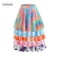tie dye women pleated skirts high waist a line female skirt summer style ladies girls mini skirts fashion chic woman short skirt