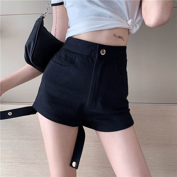 Fy9818 Cheap 2021 spring summer autumn new fashion casual cute sexy women shorts outerwear woman female OL  - buy with discount