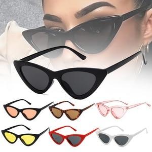 1pc Riding Glasses Fishing Glasses Retro Vintage Sunglasses Vintage Cateye Goggles Sexy Small Cat Eye Sun Glasses for Women
