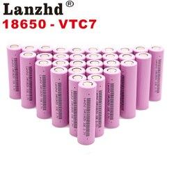 Für samsung 18650 batterien 3300mah INR18650 3,7 V akkus Li ionen lithium-ionen 18650 30a großen strom 18650VTC7