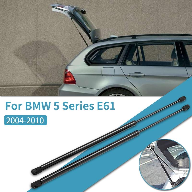 2 uds coche portón trasero de levantar el tronco apoyo amortiguador resortes a Gas amortiguadores para BMW serie 5 E61 2004-2010 accesorios de coche