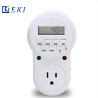 us plug timer switch socket digital lcd power timer energy saving programmable 120v 15a 60hz time switch relay