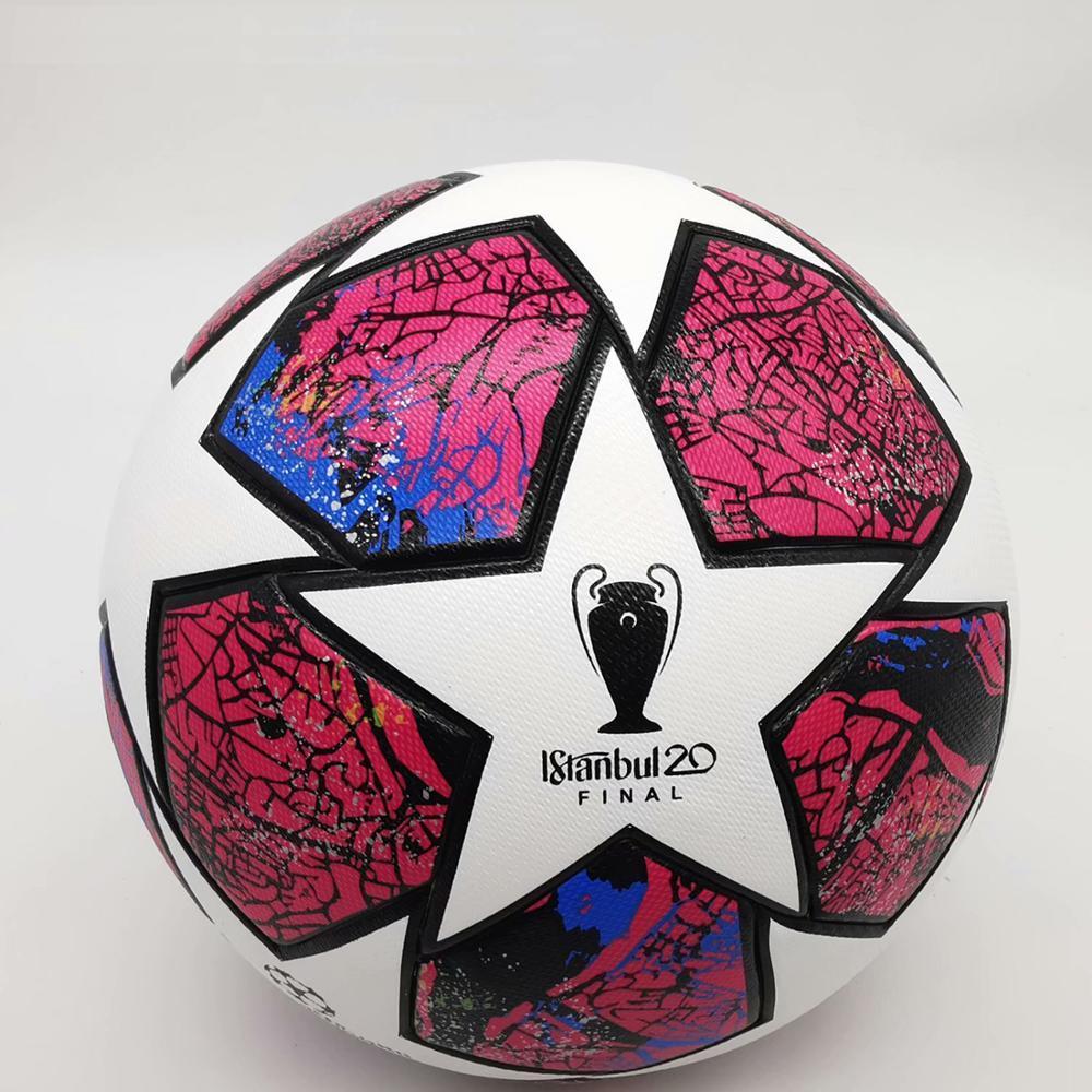 Новейшие спортивные тренировочные футбольные мячи лиги, стандартные качественные мячи, футбольные мячи 5, мячи высокого размера из полиуре...
