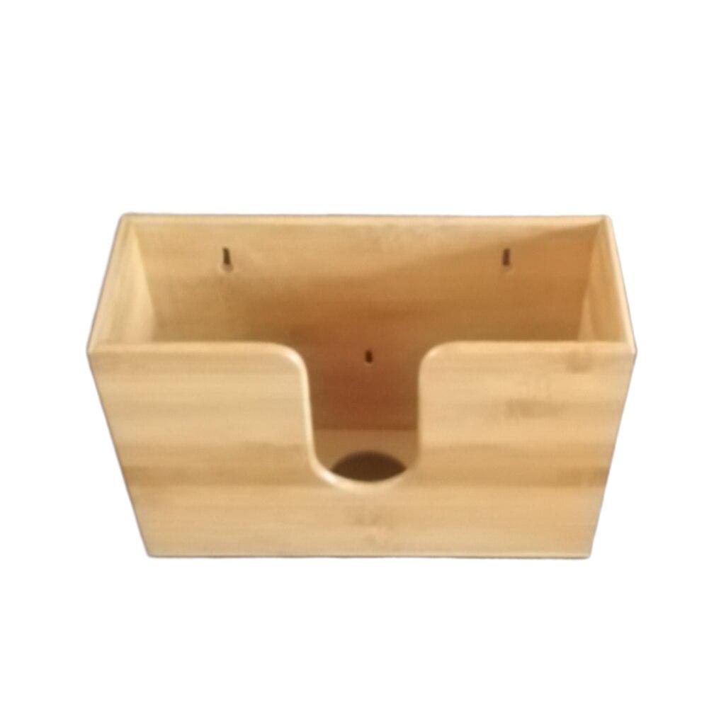 ورق الخيزران موزع ورق التجفيف مكتب عمل الحديثة الأنسجة صندوق مطعم الحمام المطبخ جدار جبل حامل مناديل كونترتوب المنزل
