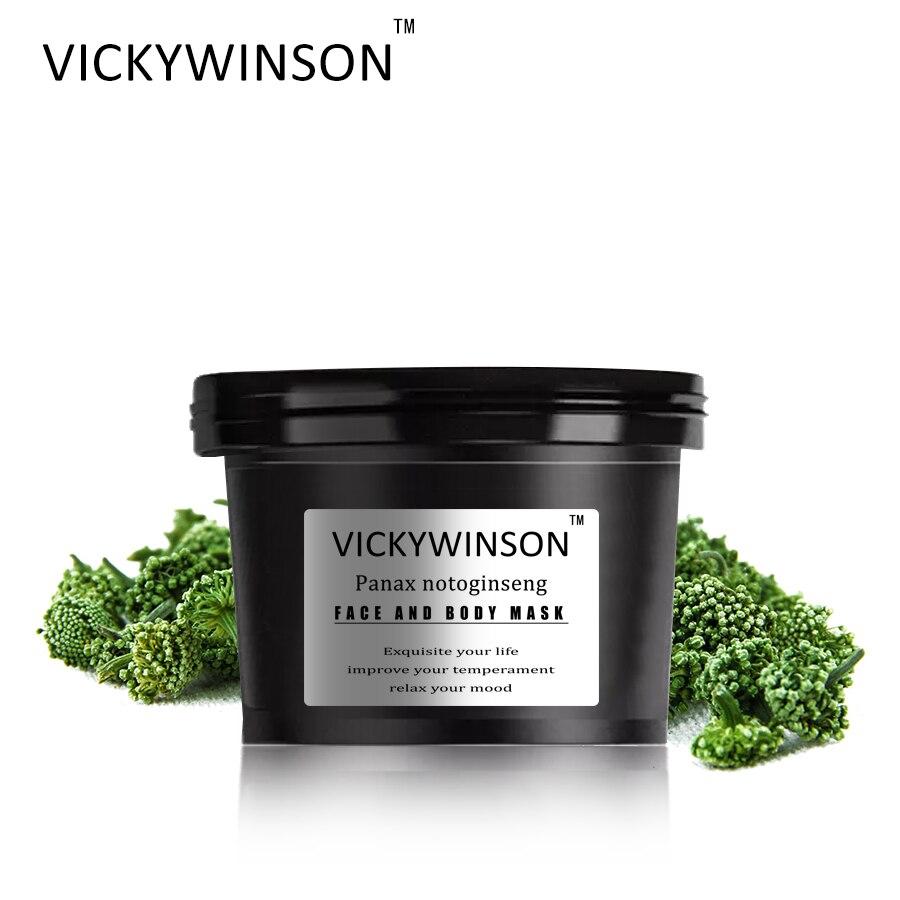 Крем-скраб VICKYWINSON Panax notoшень 50 г Отшелушивающий отбеливающий массажный крем антицеллюлитный скраб для тела ручная работа и натуральный