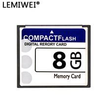 LEMIWEI Scheda CF 8GB 4GB 2GB 1GB Compact Flash Card 512MB 256MB Ad Alta Velocità reale Capacità della Scheda di Memoria Per La Macchina Fotografica Digitale