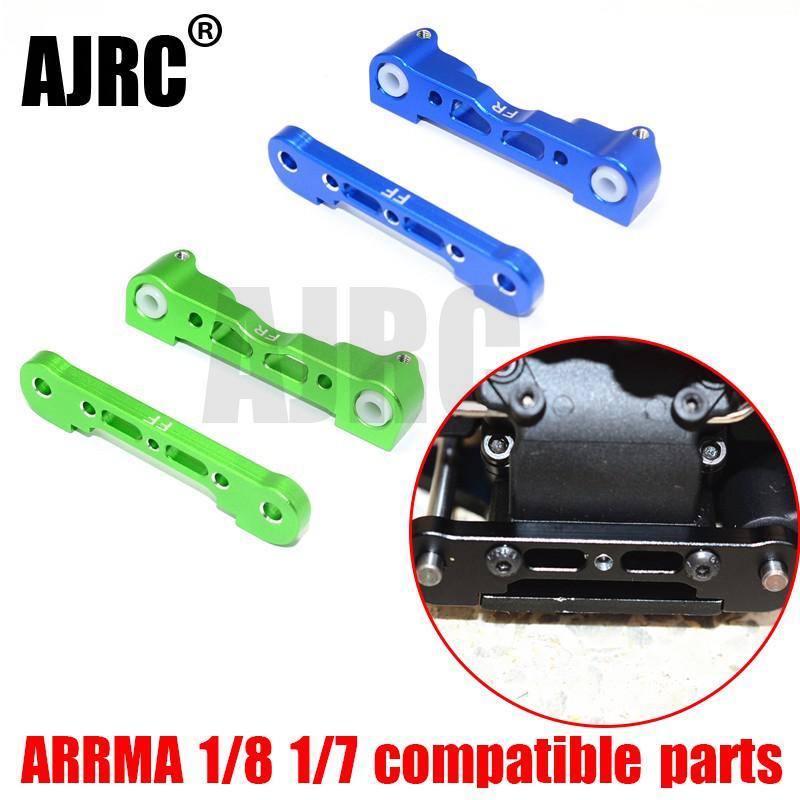 ARRMA 1/8 1/7 RC aluminum alloy front lower A-arm fixing block for ARRMA LIMITLESS/MOJAVE/KRATON/SENTON/TYPHON/TALION AR330378