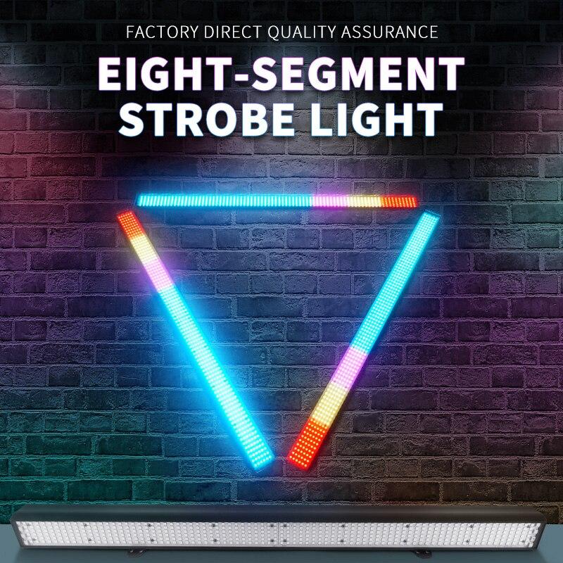 8 Segment Strobe Light Stage Light LED Beam Light DMX512 Led Dissco Bar DJ Lighting Effect for Party Show