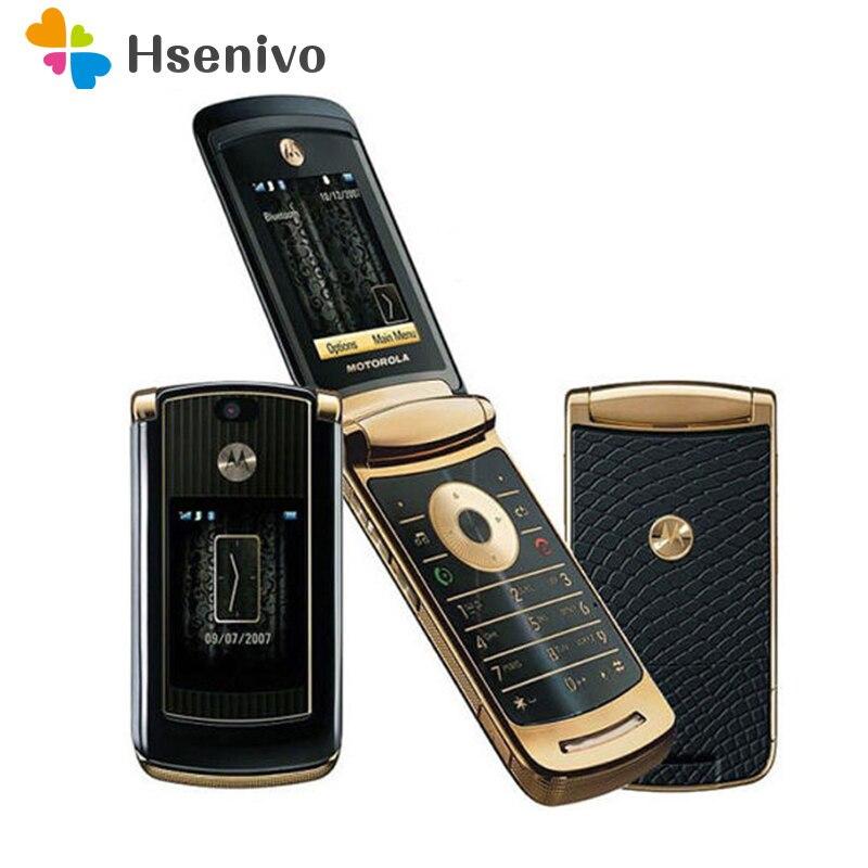 هاتف موتورولا V8 مجدد-أصلي غير مقفول مقاس 2.2 بوصات هاتف محمول رخيص 2MP 144p 770mAh هاتف خلوي مع ذاكرة داخلية 512 متر أو 2 جيجابايت شحن مجاني