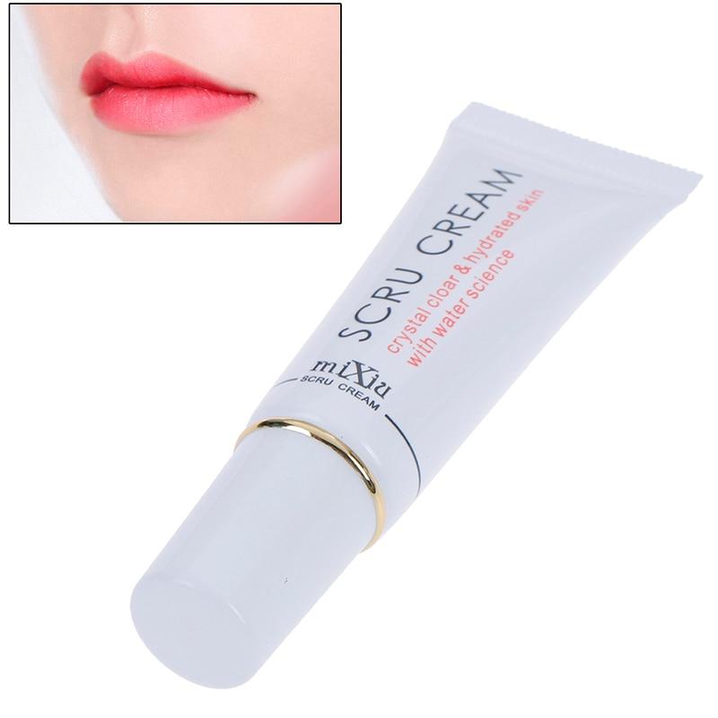 1pc Lip Moisturizing Exfoliating Removal Horniness Gel Lips Scru Cream Care Tool