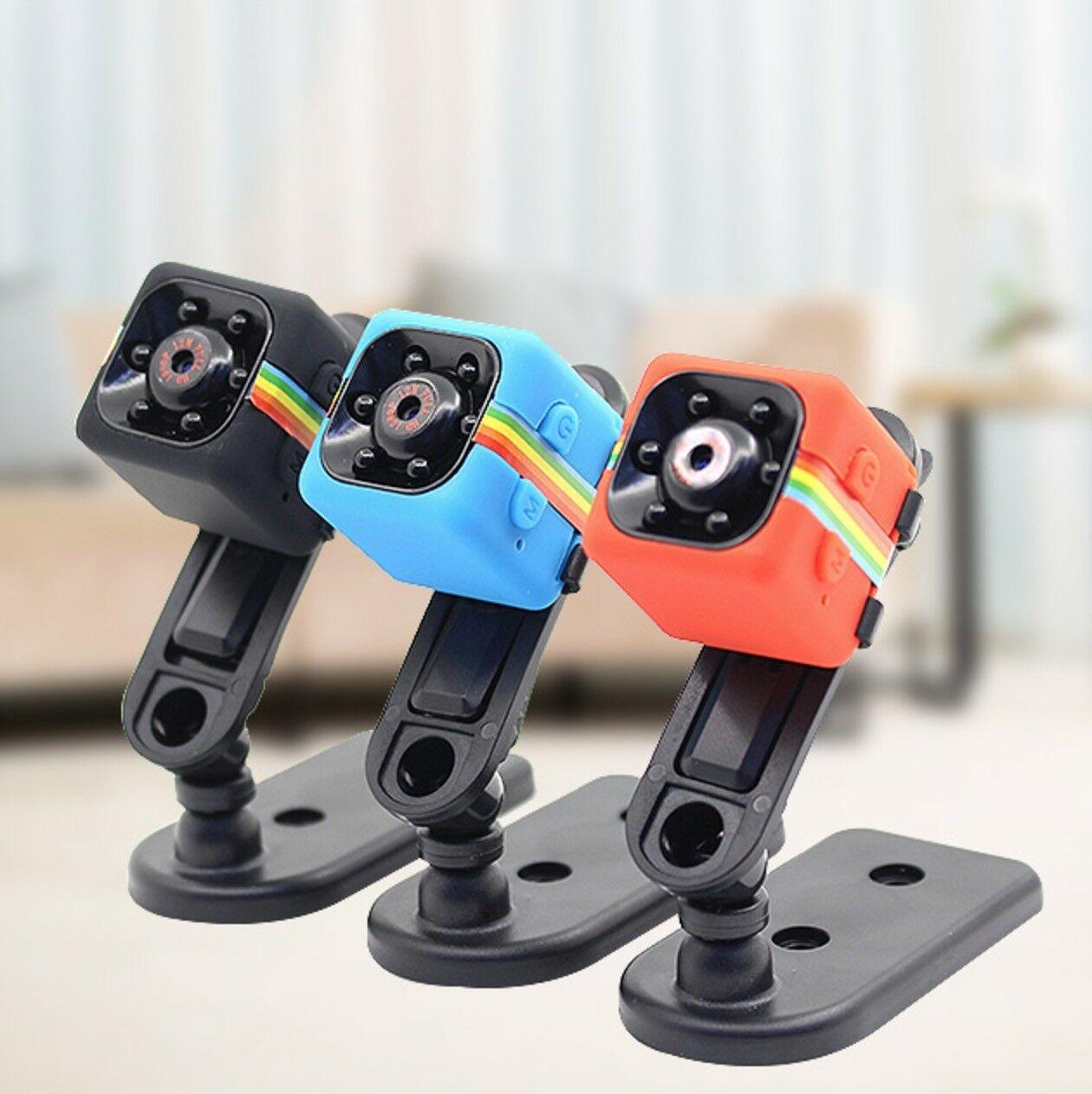 SQ11 Full HD 1080P Mini Car Hidden DV DVR Camera Spy Dash Cam IR Night Vision R Mini Cameras Camera Motion Recorder Camcorder