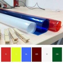 Filtro de Color de geles de papel profesional de 40*50cm pulgadas * 19 pulgadas para iluminación de escenario