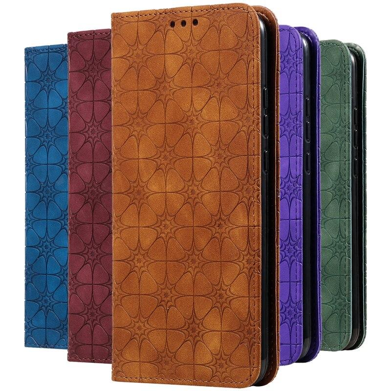 Leather Flip Case Kickstand Card Holder For Samsung Galaxy A91 A81 A71 A51 A50S A50 A30S A30 A20 A10 Wallet Magnetic Cover